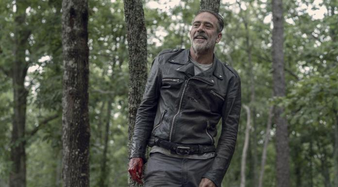 Jeffrey Dean Morgan (Negan) - The Walking Dead 10x06 - Photo Credit: Jace Downs/AMC