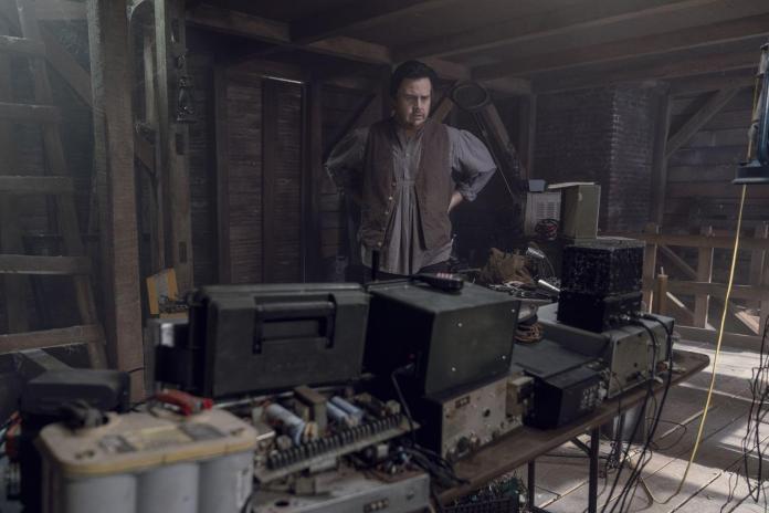 Josh McDermitt (Dr. Eugene Porter) - Jace Downs/AMC