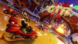 Crash Team Racing Nitro-Fueled: arriva il Gran Premio Invernale