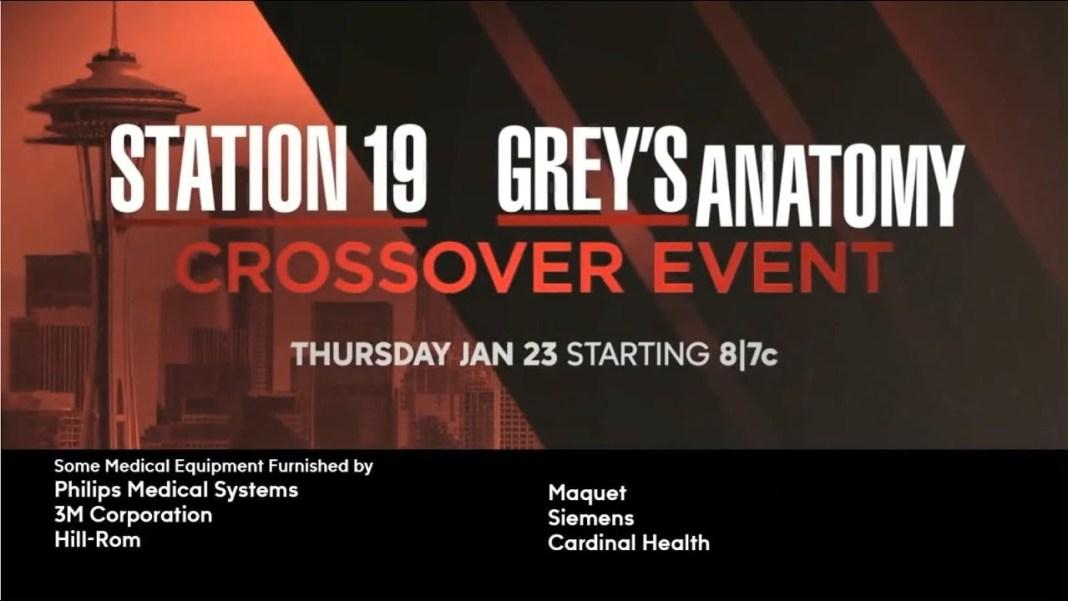 grey's anatomy station 19 crossover 2020 foto
