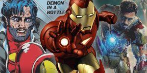 Marvel: IL DEMONE NELLA BOTTIGLIA è ancora il momento più importante della storia di IRON MAN?