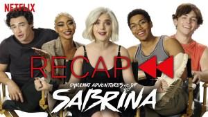 Le terrificanti avventure di Sabrina: il cast riassume le prime due stagioni!