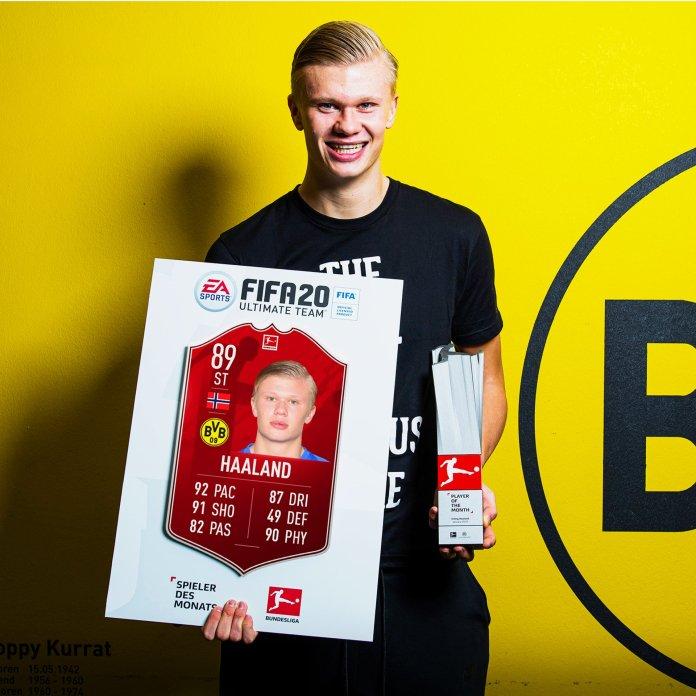 Erling Håland Player of the Month (POTM) Bundesliga Gennaio - Fifa 20 Ultimate Team
