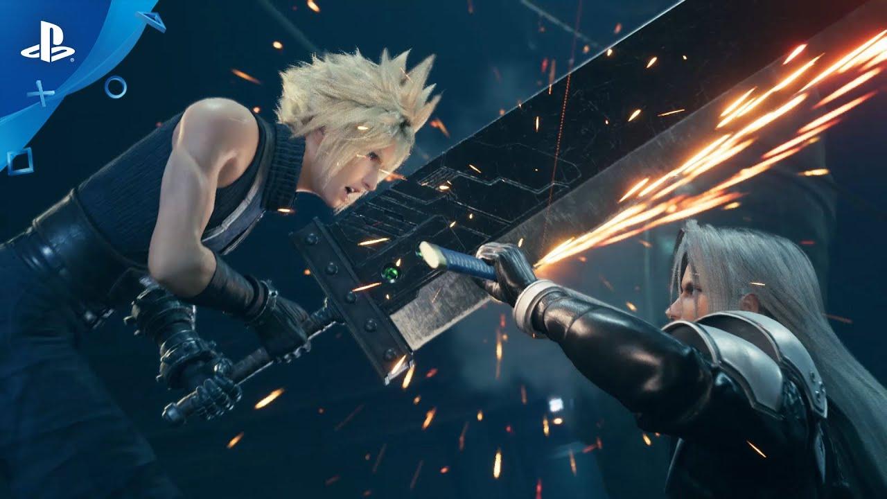 Final Fantasy VII Remake, un video paragona l'ultimo trailer all'originale