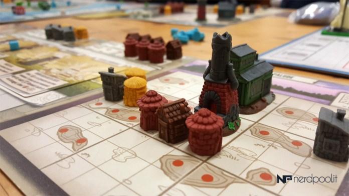Le miniature sulla plancia Territorio