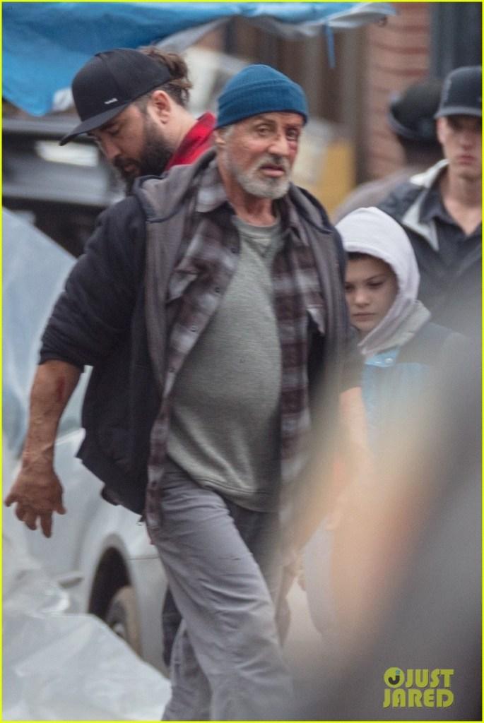 Samaritan: prime immagini di Sylvester Stallone sul set ...