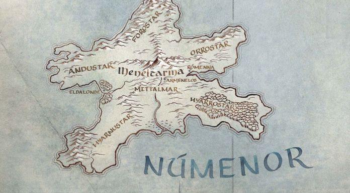 Amazon mappa serie Signore degli Anelli