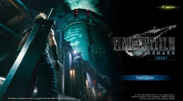 Final Fantasy 7 Remake Demo