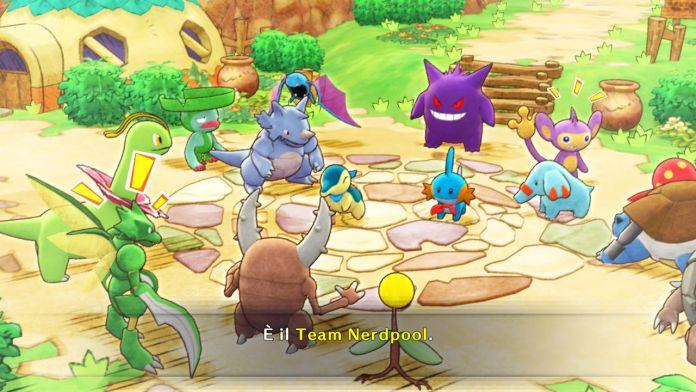 Pokémon team Nerdpool. Pokémon Mystery Dungeon Squadra di Soccorso DX