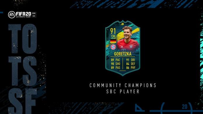 FIFA 20 Ultimate Team - Leon Goretzka SBC Player Moments - FUT