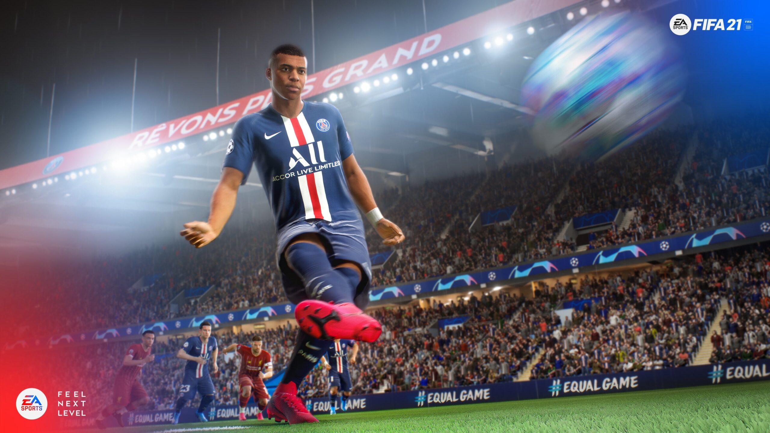 FIFA 21, svelata la copertina: il prescelto è Mbappè