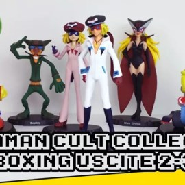 L'Angolo dell'Unboxing #2 – Yattaman Cult Collection vol.2-3-4