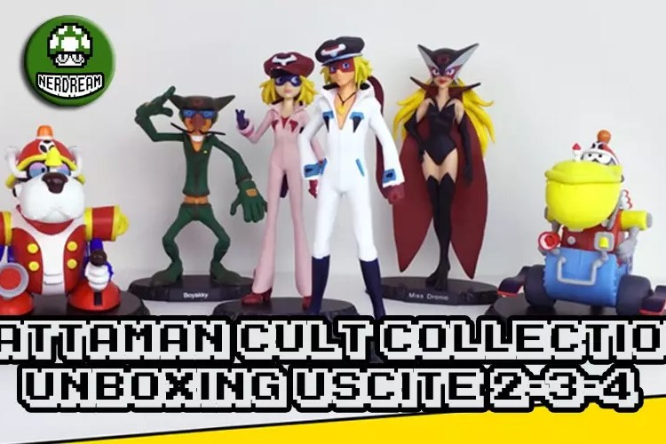 Langolo dellunboxing yattaman cult collection vol 2 3 4