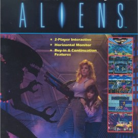 Aliens (Konami) – Arcade – 1990 – Retroreview