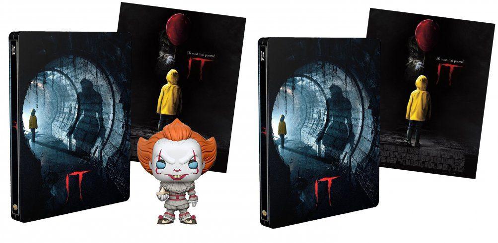 Offerte Amazon - Sconti steelbox ed in arrivo 2 edizioni speciali di IT Cinema Cinema & TV Nerd&Geek News
