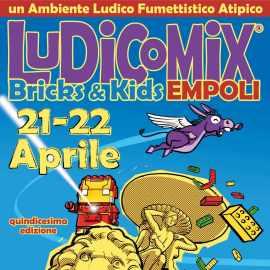 Ludicomix Bricks & Kids sta per tornare – Empoli 21 e 22 Aprile