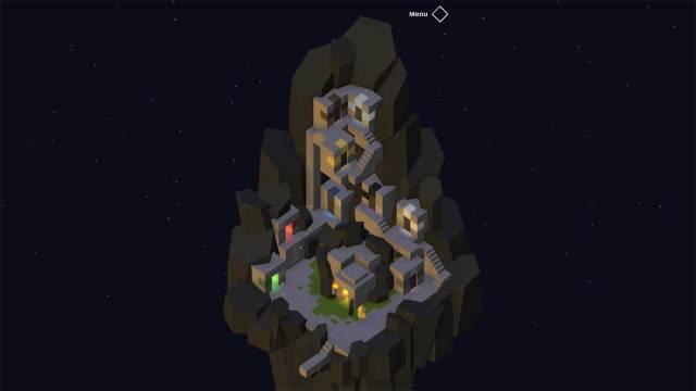 schermata iniziale di Triplicity