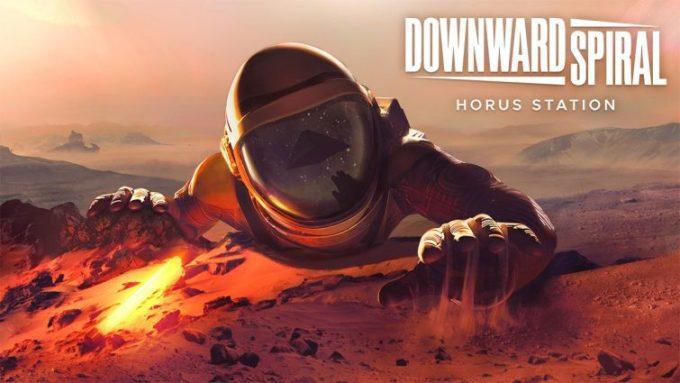 copertina del gioco Downward Spiral: Horus Station