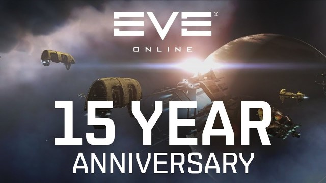 copertina del video celebrativo per i primi 15 anni di Eve Online