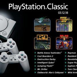 Titoli Playstation Classic – Quasi la metà sarà a 50Hz