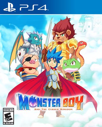 Monster Boy and the Cursed Kingdom – Recensione – PS4, Xbox One, Switch