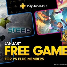 PlayStation Plus Gennaio 2019 – Ecco i titoli gratis del mese…