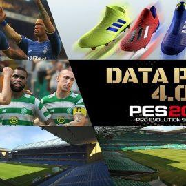 PES 2019 – Disponibile il download per il Data Pack 4.0