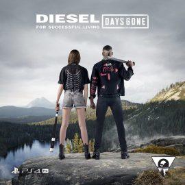 Days Gone e Diesel uniti in una nuova linea di abbigliamento