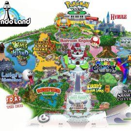 La costruzione del Super Nintendo World ad Hollywood entra nel vivo