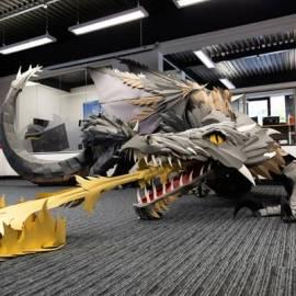 L'inverno è arrivato… Da Viking Italia c'è un origami di Drogon!