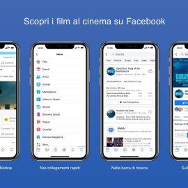 Facebook Film – Nuova funzione social dedicata al cinema!