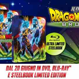 Dragon Ball Super: Broly – Arriva in Home Video il 20 giugno 2019