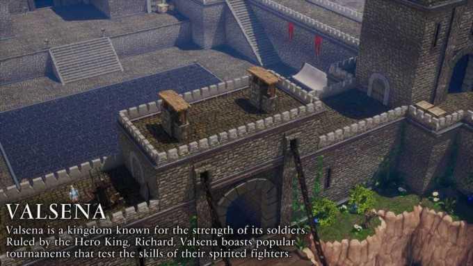 Scopri tutte le location del mondo di Trials Of Mana Comunicati Stampa Videogames