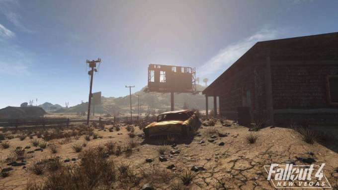 Nuovi screenshot per il remake di Fallout New Vegas fatto con l'engine di Fallout 4 News Videogames