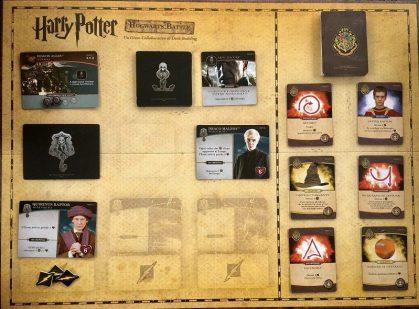 Harry Potter Hogwarts Battle tabellone