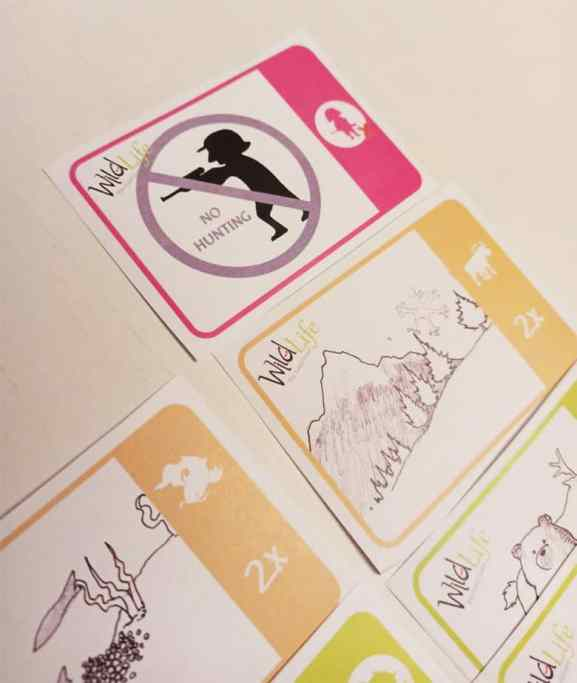 Wild Life The Card Game vietata la caccia