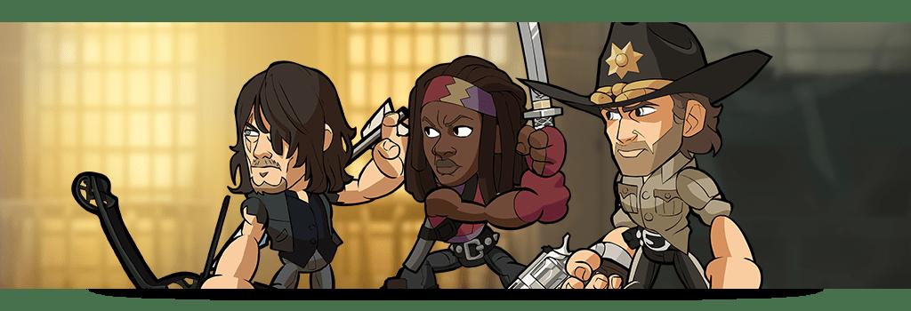 Michonne, Rick Grimes e Daryl Dixon di The Walking Dead ora disponibili su Brawlhalla Comunicati Stampa Videogames