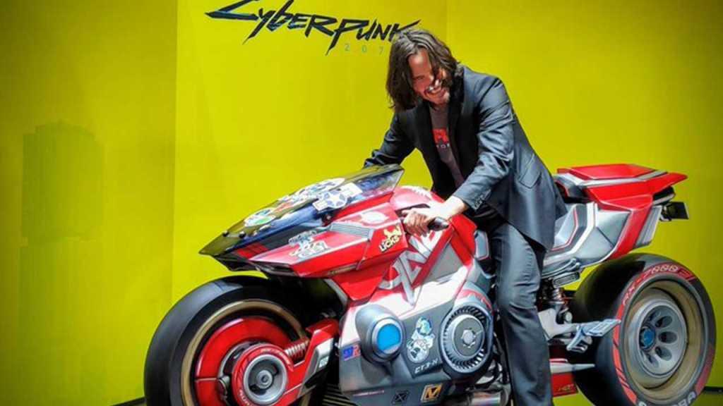 La moto di Keanu Reeves sarà presente in Cyberpunk 2077 News Videogames