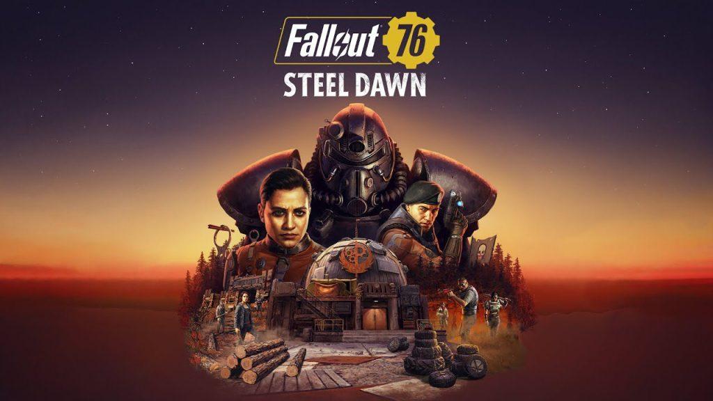 """Fallout 76: Alba d'acciaio (Steel Dawn) - Trailer """"Reclutamento"""" Comunicati Stampa PC PS4 Videogames XBOX ONE"""