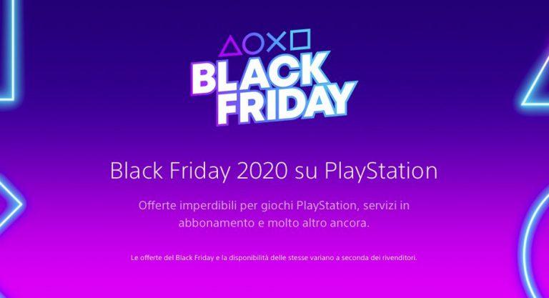 Arrivano gli sconti del Black Friday sul PlayStation Store News PS4 PS5 Videogames