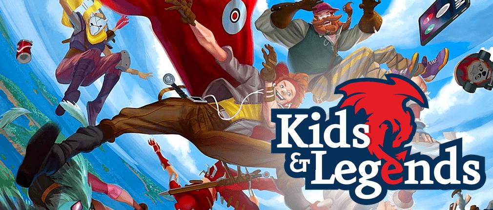 Asmodee Italia annuncia la distribuzione di Kids & Legends Giochi Giochi di Ruolo