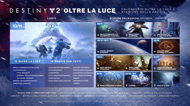 Bungie - Destiny 2: Oltre la Luce disponibile! Comunicati Stampa Giochi Videogames