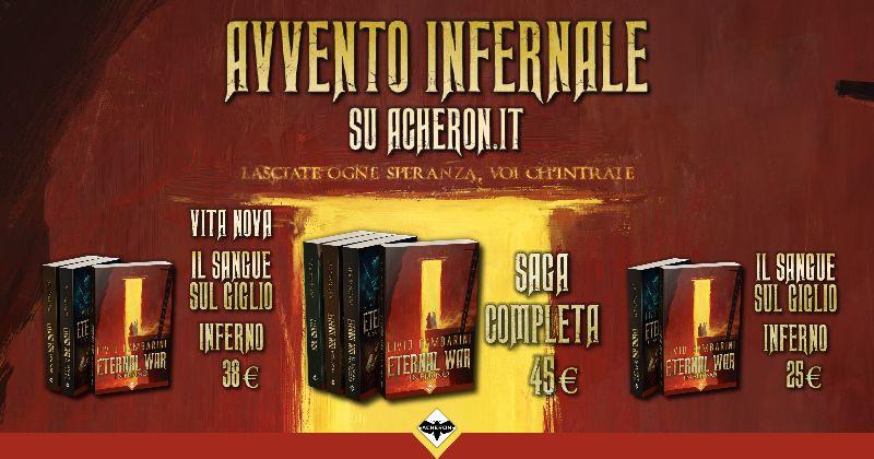 La saga fantasy italiana più di successo degli ultimi anni sta per finire... vuoi sapere dove? Comunicati Stampa Libri Libri & Fumetti