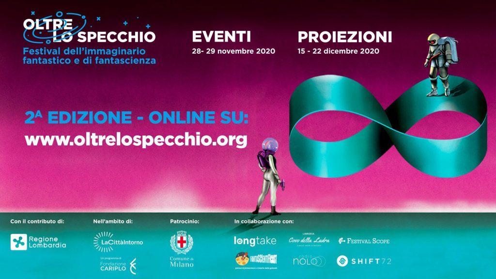 Oltre lo Specchio 2020 - 2° Edizione Festival dell'immaginario fantastico e di fantascienza Cinema Cinema & TV Comunicati Stampa