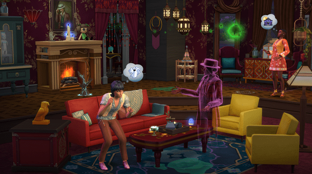 The Sims 4 diventa spettrale con il nuovissimo Paranormal Stuff Pack Comunicati Stampa Videogames