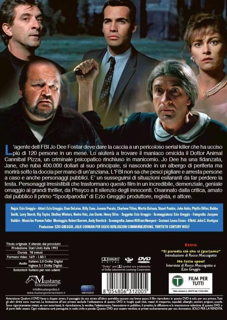 Esordio in vetta per Il Silenzio dei Prosciutti in formato home video! Cinema Cinema & TV Comunicati Stampa