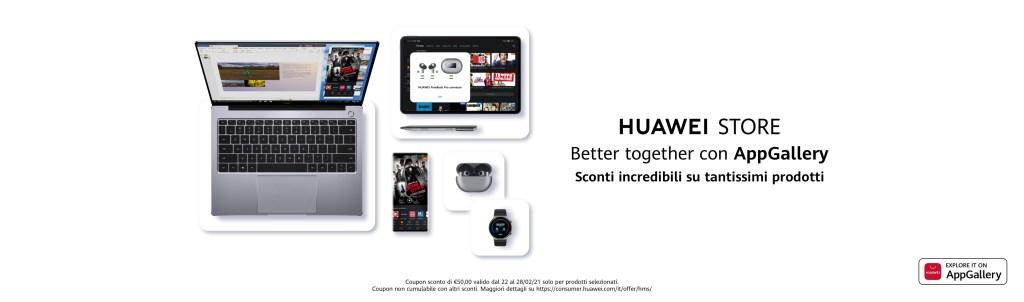 Huawei Store - Settimana di sconti fino al 28 febbraio Hi-Tech Nerd&Geek