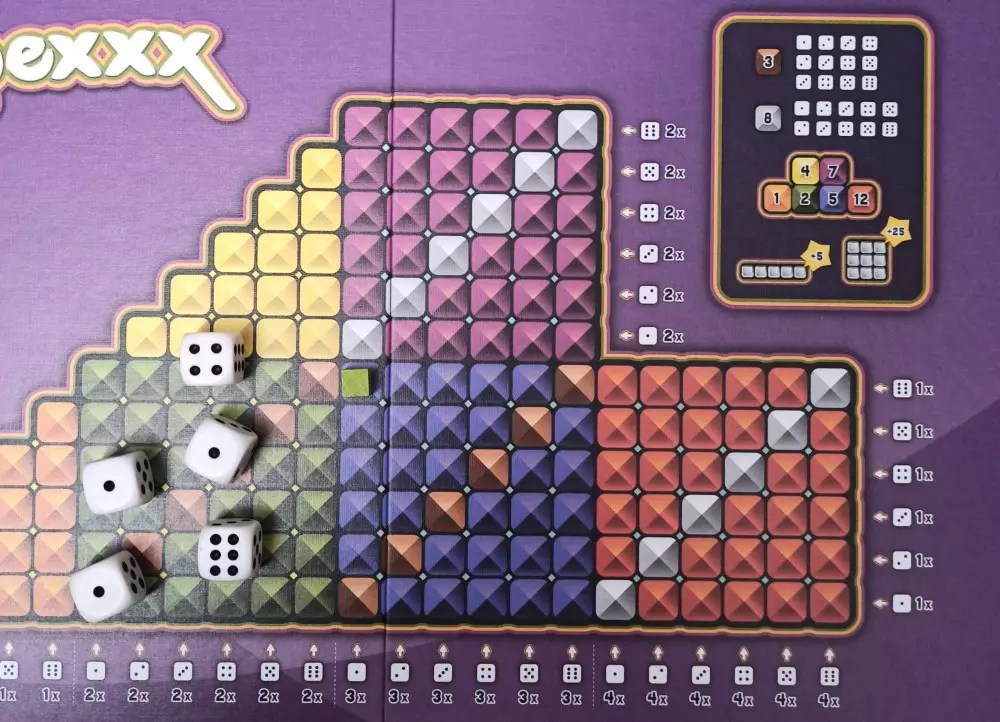 Spexxx - Recensione - L'evoluzione dello Yathzee - Waterfall Games Giochi da Tavolo Recensioni Tutte le Reviews