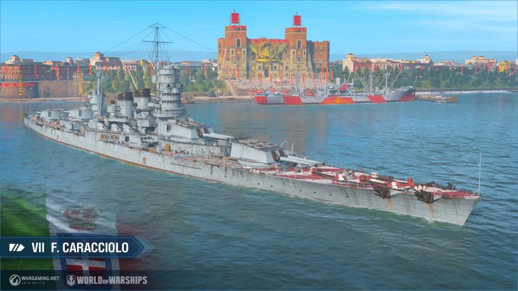 Le nuove corazzate italiane arrivano in accesso anticipato su World of Warships il 18 febbraio Comunicati Stampa PC Videogames
