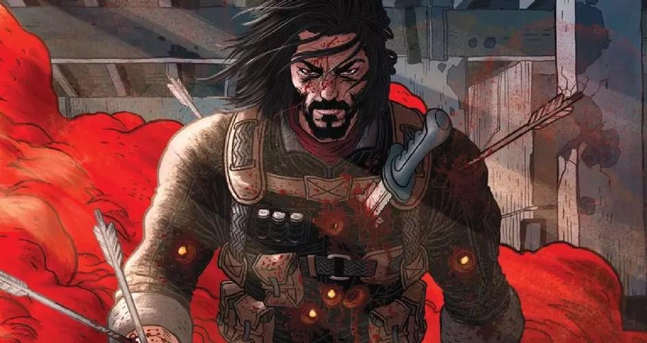 Il fumetto BRZRKR di Keanu Reeves